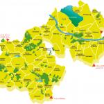 Carte du territoire d'Artois Comm.