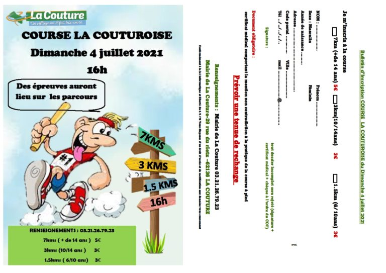 Course La Couturoise 2021