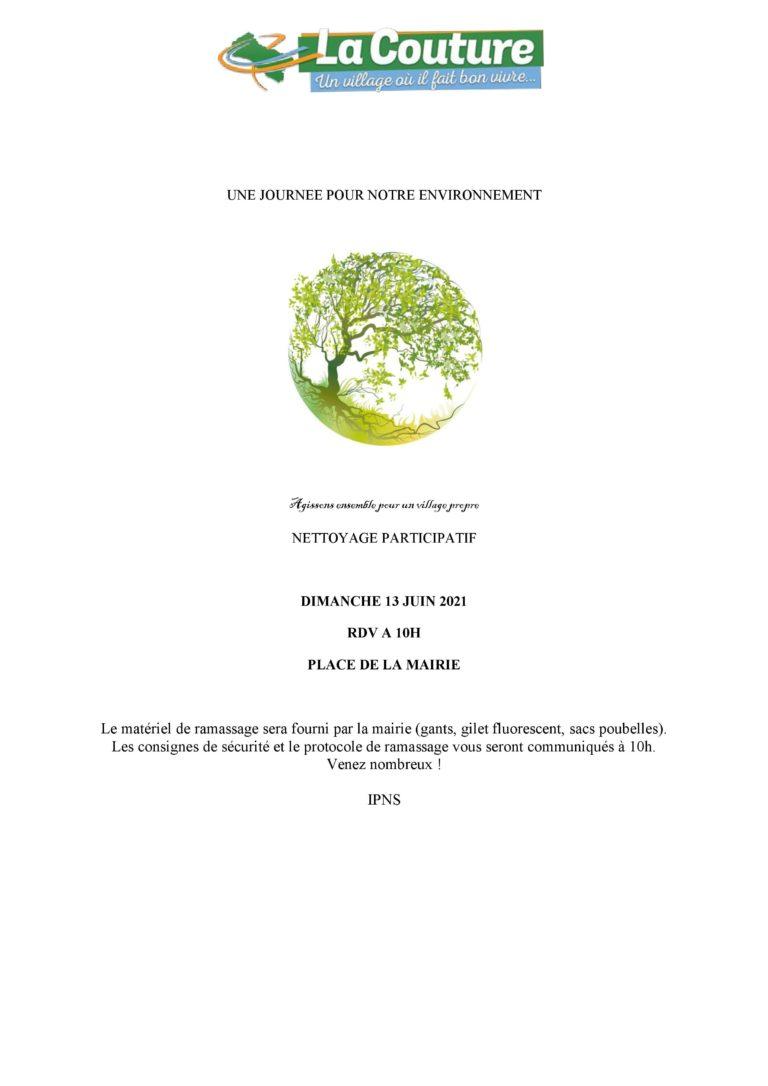 Nettoyage Participatif – Juin 2021